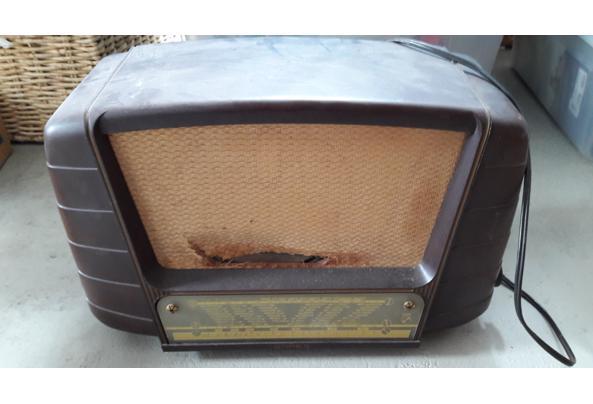 Oude radio af te halen - Oude-radio