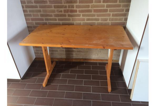 Houten bureau (of kleine tafel) - 608A82A3-87D2-4FD2-8767-AD9468DAB902