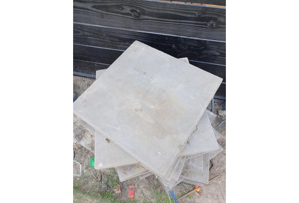 Beton tegels 50x50x4cm 28 stuks - 20210615_183620