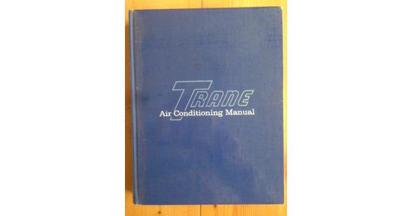 Trane Air Conditioning Manual