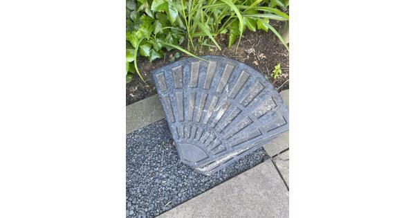 Ballast tegels parasol