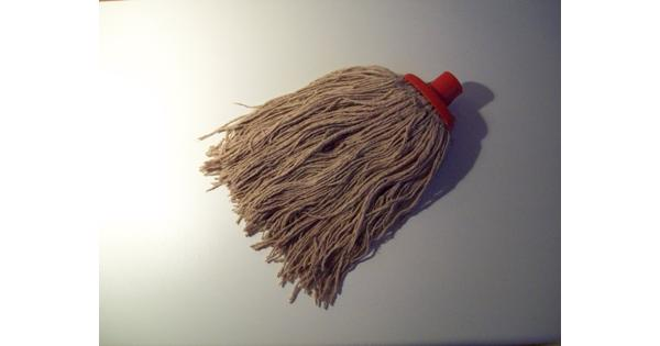 Schoonmaak mop of zwabber