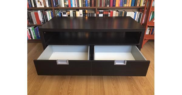 Zwart IKEA TV-meubel