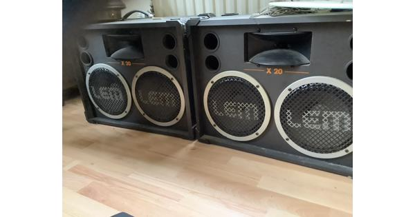 Boxen en audioapperatuur
