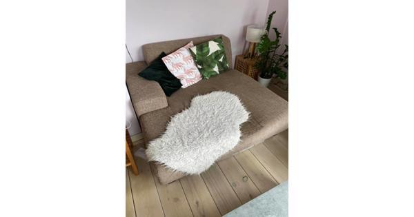 1 hoekbank met chaise longue of twee losse delen!