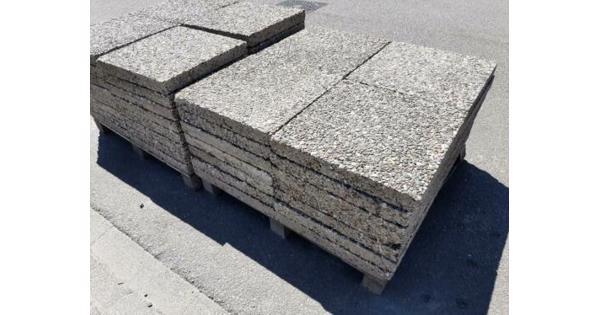 Tegels 50x50cm, 80 stuks