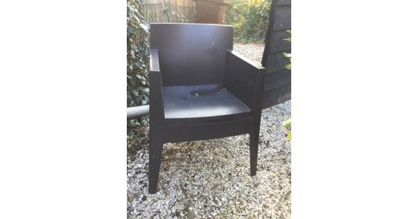 Buiten stoelen 4 stuks stapelbaar