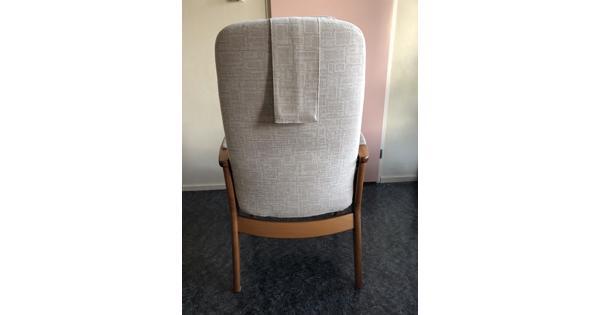 Houten relax stoel