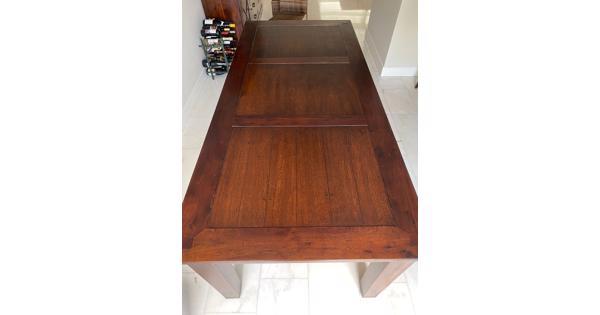 Eettafel hout