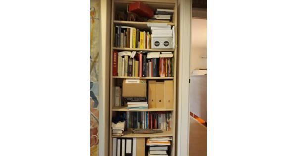 Boekenkast, esdoornfineer