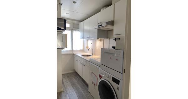 Complete kleine keuken (270cm boven, 150cm onder)