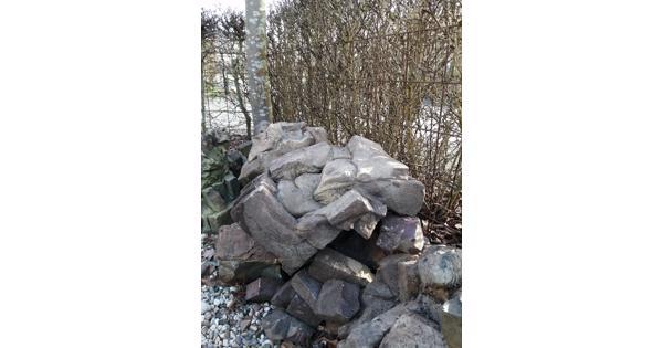 Decoratie stenen (misbaksels)