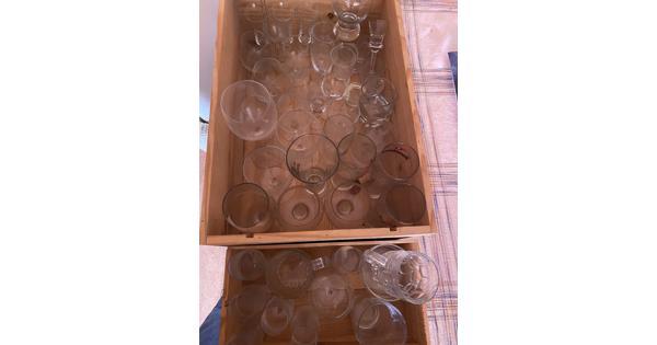 diverse glazen