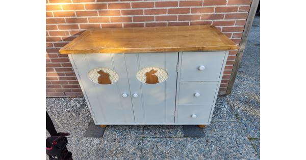 Commode hout