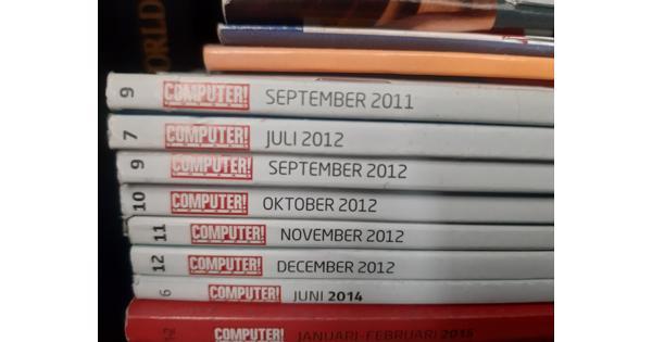 Computerbladen diverse jaargangen