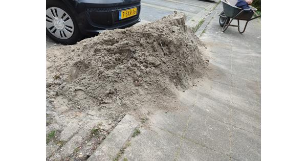 Zand ophoogzand plaatzand 1 kuub