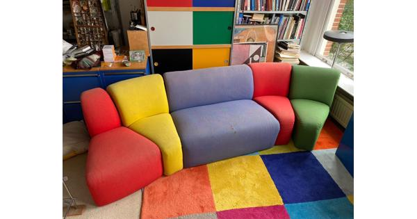 Gebruikte Artifort bank in verschillende kleuren