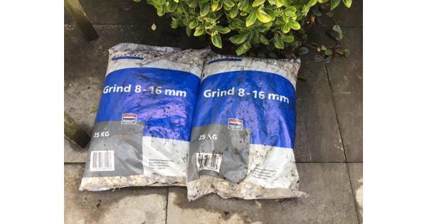 Grind 2 zakken van 25 kilo