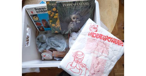 materiaal voor poppen maken