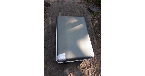 Koffer/ reiskoffer grijs