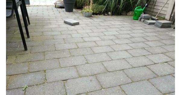 Gratis grijze terrastegels 20*30*6cm