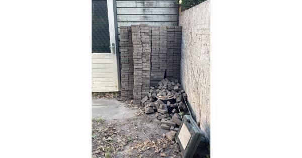 15 m2 betonklinkers