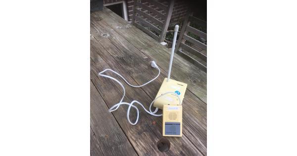 Ouderwetse babyfoon, inclusief batterij