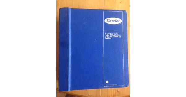 Carrier Air Conditioning Design Manual