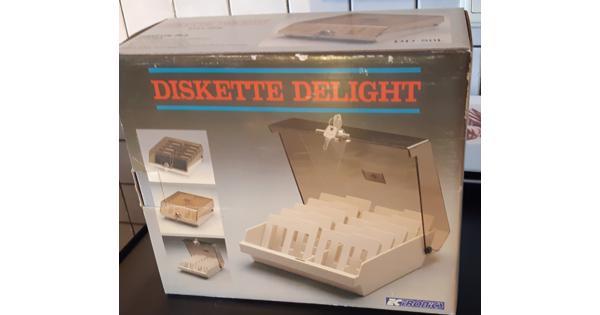 Discettebox met sleutels nieuw in doos