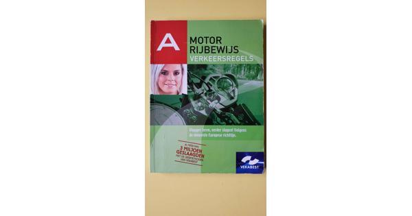 Theorieboek rijbewijs A motor