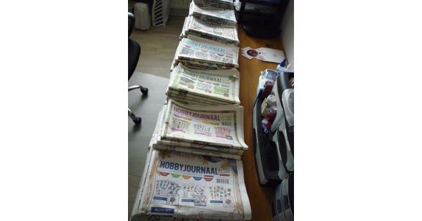 ruim 120 Hobbyjournaals
