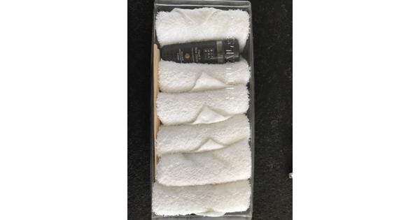 Set gasten handdoekjes geparfumeerd