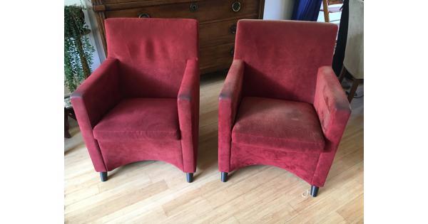 2 fauteuils Leolux Dolcinea