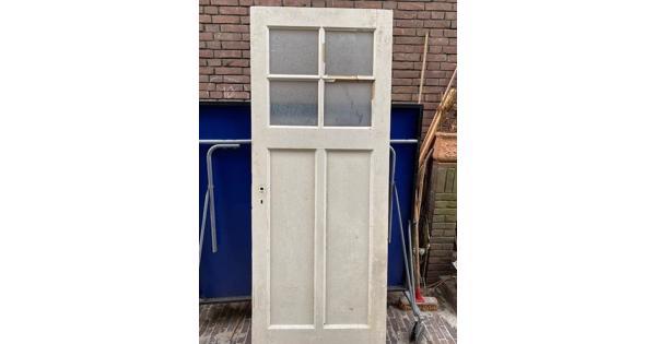 Massief houten deur