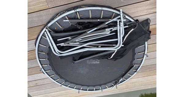 Salta Trampoline met net op poten 210cm diameter