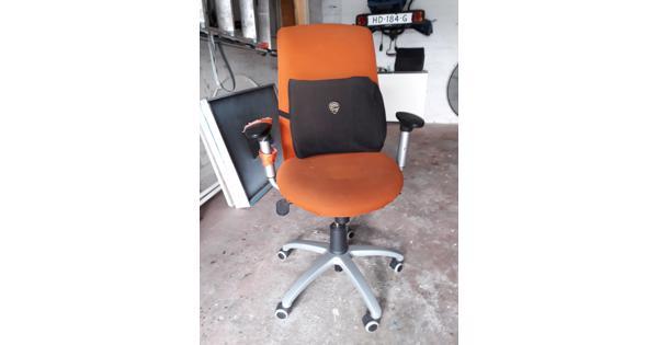 Gebruikte verrijdbare kantoorstoel