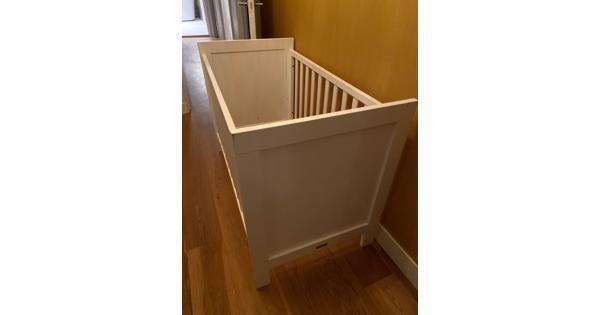 Bobita baby bedje - Wit 60 x 120 cm