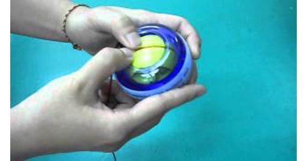 Power Ball (Relatiegeschenk met oud bedrijfslogo)