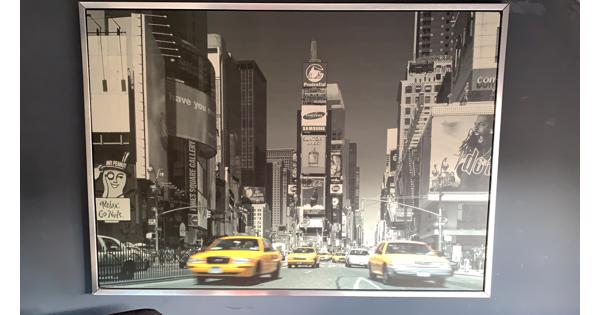 Ikea poster New York poster in frame