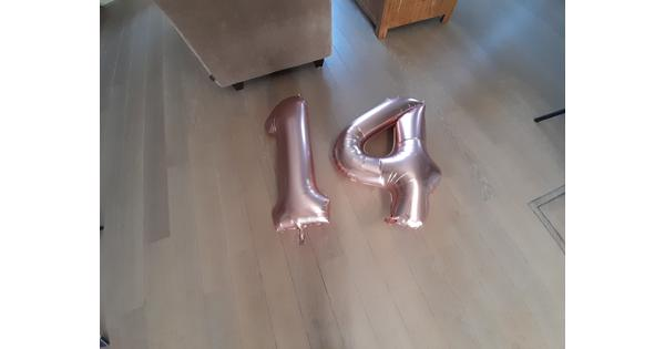 Cijfer ballon