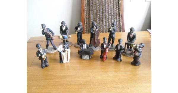 beeldjes jazzband