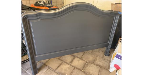 Houten bedhoofd board