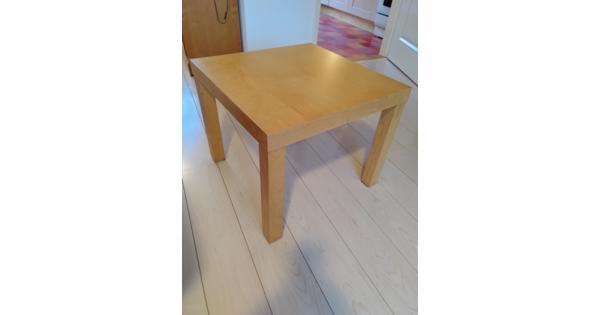 Ikea lack bijzet tafel lichte houtkleur