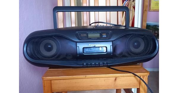 stereo muziekspeler (met Extra Bass System)