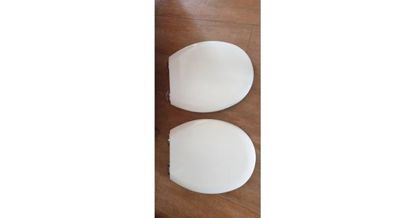 Toiletbril 2x carrara en matta