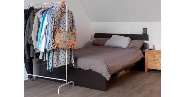 Ikea hopen bed, Sultan matras, lattenbodem