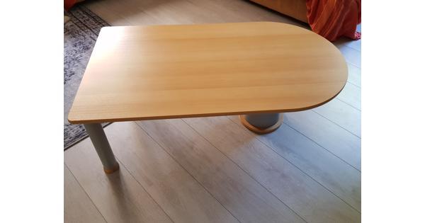 Salon tafel van beukenhout