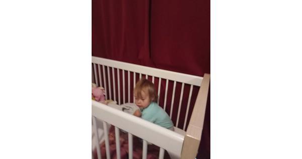 Baby bedje met matras