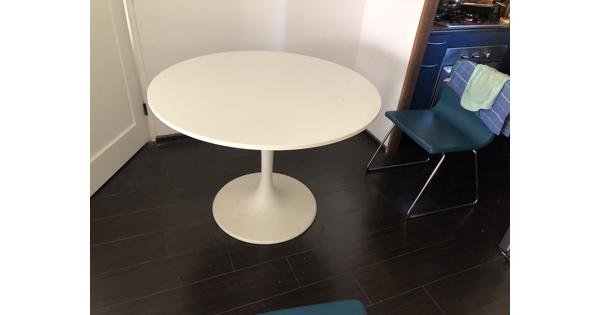 Ronde eettafel 105cm diameter