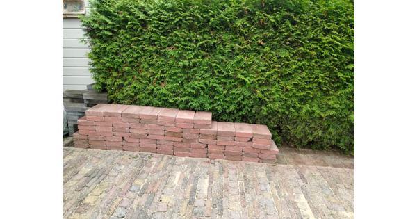 4,8 m² cobblestones